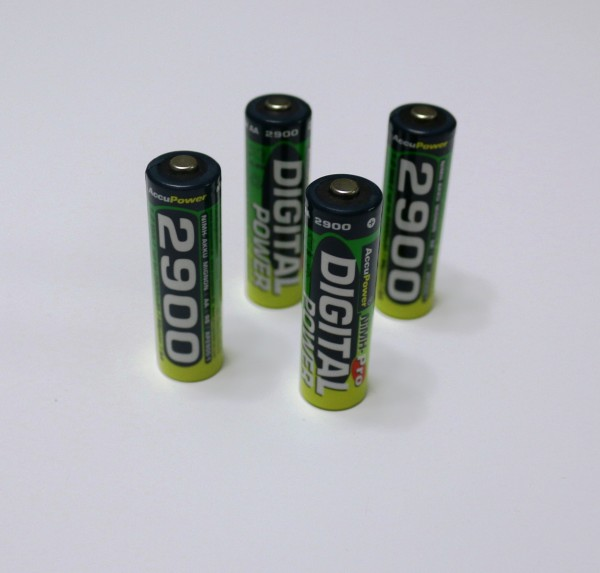 AccuPower AA NiMH 2900mah