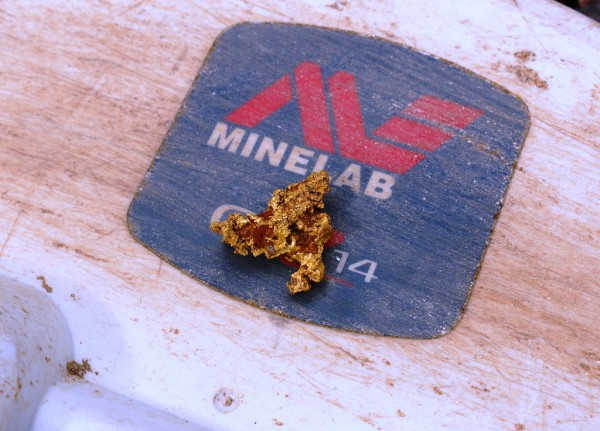 12g reef gold using the Minelab GPZ 7000